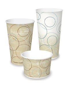 7 OZ Paper Cold Cup, Graphic Packaging, 100/BD 25BD/CS