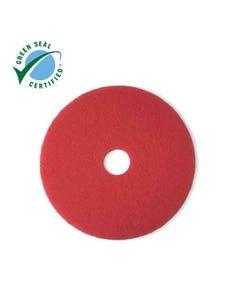3M™ Red Buffer Pad 5100, 10in, 5/Case