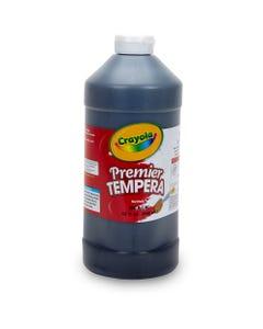 Crayola 32 oz. Premier Tempera Paint - 2 lb - 1 Each - Black