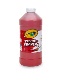 Crayola 32 oz. Premier Tempera Paint - 2 lb - 1 Each - Red