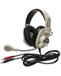 Deluxe Multimedia Stereo Wired Headset 3.5Mm Plug - Stereo - Mini-phone - Wired - 300 Ohm - 20 Hz - 20 kHz - Over-the-head - Binaural - Ear-cup - 7 ft Cable