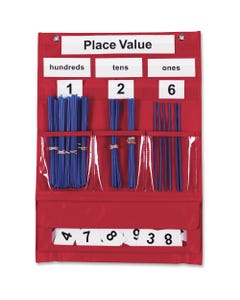 Learning Resources Counting/Place Value Pocket Chart