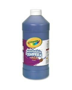 Crayola Washable Tempera Paint - 2 lb - 1 Each - Blue