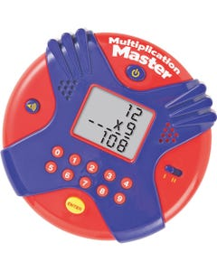 Learning Resources Multiplication Master Electronic Flash Card Game - Theme/Subject: Learning - Skill Learning: Multiplication - 7-10 Year