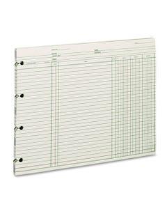 Wilson Jones® Accounting, 9-1/4 X 11-7/8, 100 Loose Sheets/Pack