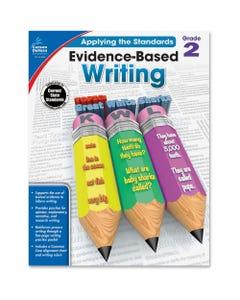 Carson Dellosa Education Grade 2 Evidence-Based Writing Workbook Printed Book - Book - Grade 2