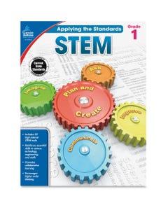 Carson Dellosa Education Grade 1 Applying the Standards STEM Workbook Printed Book - Book - Grade 1