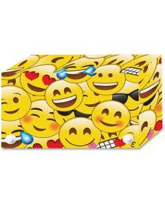 """Ashley Emoji Design Index Card Holder - For Index Card 4"""" x 6"""" Sheet - Emoji Design - Multi - Polypropylene - 5 / Pack"""