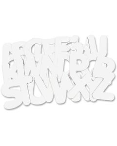"""Roylco Collage Multi-purpose Letters - 26 (Alphabet) Shape - Sturdy - 9"""" Height - 26 / Pack"""