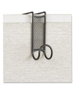 Safco® Onyx Panel/Door Coat Hook, Steel