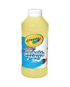 Crayola Washable Paint - 16 oz - 1 Each - Yellow