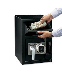 Sentry® Safe Digital Depository Safe, Large, 0.94 Cu Ft, 14W X 15.6D X 20H, Black