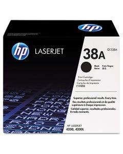 Hp 38a, (q1338a) Black Original Laserjet Toner Cartridge