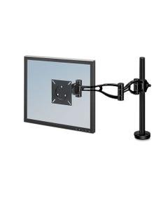 Fellowes® Depth Adjustable Monitor Arm, 4.38W X 24D X 21H, Black
