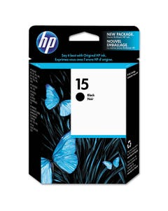Hp 15, (c6615dn) Black Original Ink Cartridge
