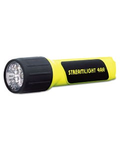 Streamlight® Propolymer Led Flashlight, 4 Aa Batteries (Included), Yellow/Black