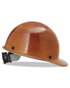 MSA Skullgard Protective Hard Hats, Ratchet Suspension, Size 6 1/2 - 8, Natural Tan