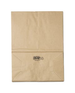 1/6 Bbl Paper Grocery Bag, 57lb Kraft, Standard 12 X 7 X 17, 500 Bags