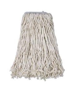 Boardwalk® Cotton Mop Head, Cut-End, #32, White, 12/Carton