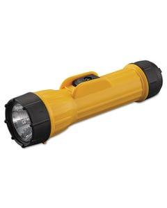 Bright Star® Industrial Heavy-Duty Flashlight, 2 D Batteries (Sold Separately), Yellow/Black