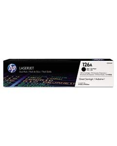 Hp 126a, (ce310a-D) 2-Pack Black Original Laserjet Toner Cartridges