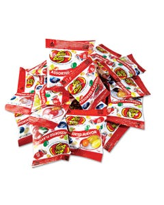 Jelly Belly® Jelly Beans, Assorted Flavors, 300/Carton