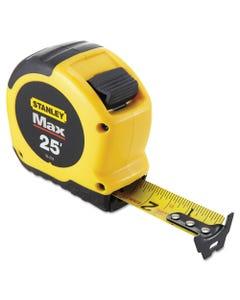 """Stanley Tools® Max Tape Rule, 1 1/8"""" X 25Ft, Steel"""