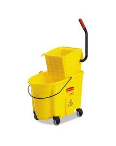 Wavebrake 35 Quart Bucket/wringer Combinations, Yellow