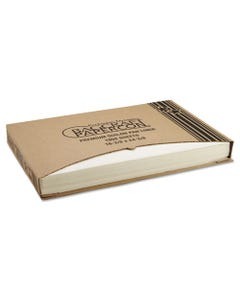 Bagcraft Grease-Proof Quilon Pan Liners, 16 3/8 X 24 3/8, White, 1000 Sheets/Carton