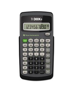 Texas Instruments Ti-30Xa Scientific Calculator, 10-Digit Lcd