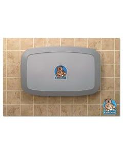 Koala Kare® Horizontal Baby Changing Station, 35 X 22, Gray