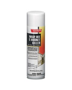 Chase Products Champion Sprayon Wasp, Bee & Hornet Killer, 15Oz, Can, 12/Carton