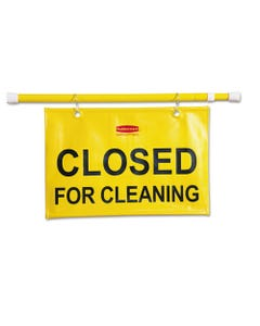 Site Safety Hanging Sign, 50w X 1d X 13h, Yellow