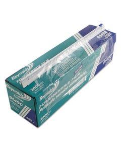 "Reynolds Wrap® Pvc Food Wrap Film Roll In Easy Glide Cutter Box, 18"" X 2000 Ft, Clear"