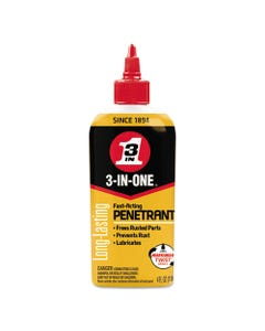 WD-40® 3-In-One Professional High-Performance Penetrant, 4 Oz Bottle, 12/Ct