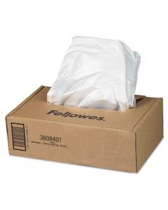 Fellowes® Shredder Waste Bags, 16-20 Gal Capacity, 50/Carton