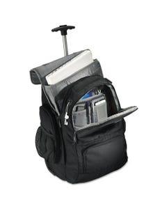 Samsonite® Rolling Backpack, 14 X 8 X 21, Black/Charcoal
