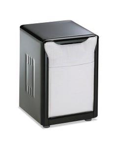San Jamar® Tabletop Napkin Dispenser, Low Fold, 3 3/4 X 4 X 5 1/2, Capacity: 150, Black