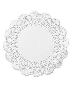 "Hoffmaster® Cambridge Lace Doilies, Round, 10"", White, 1000/Carton"