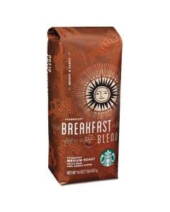 Starbucks® Whole Bean Coffee, Breakfast Blend, 1 Lb Bag