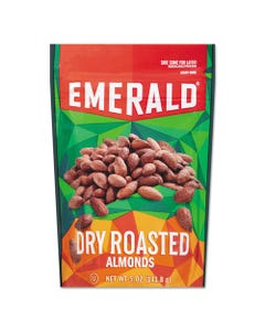 Emerald® Dry Roasted Almonds, 5 Oz Pack, 6/Carton