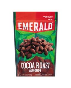 Emerald® Cocoa Roasted Almonds, 5 Oz Pack, 6/Carton
