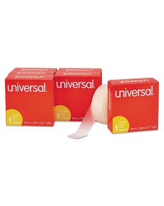 """Universal® Invisible Tape, 1"""" Core, 0.75"""" X 83.33 Ft, Clear, 6/Pack"""