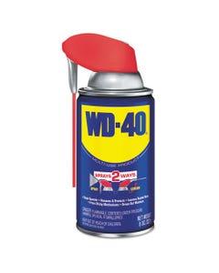 WD-40® Smart Straw Spray Lubricant, 8 Oz Aerosol Can, 12/Carton
