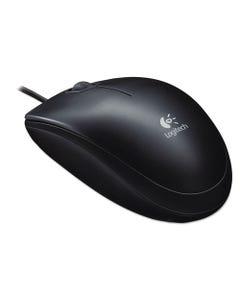 Logitech® B100 Optical Usb Mouse, Usb 2.0, Left/Right Hand Use, Black