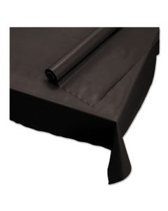 """Hoffmaster® Plastic Roll Tablecover, 40"""" X 100 Ft, Black"""