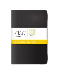 TOPS™ Idea Collective Journal, Wide/Legal Rule, Assorted Cover Colors, 5.5 X 3.5, 40 Sheets, 2/Pack