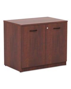 Alera® Alera Valencia Series Storage Cabinet, 34 1/8W X 22 7/8D X 29 1/2H, Medium Cherry
