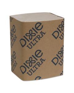 "Dixie® Ultra® Interfold Napkin Refills 2-Ply, 6 1/2"" X 9 7/8"", Brown, 6000/Carton"