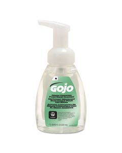 GOJO® Green Certified Foam Soap, Fragrance-Free, Clear, 7.5Oz Pump Bottle